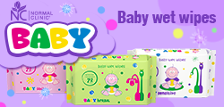 Try new product- Baby wet wipes NORMAL clinic BABY.